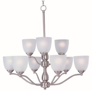 Stefan - Nine Light 2-Tier Chandelier