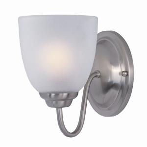 Stefan-One Light Wall Sconce in Contemporary style-5 Inches wide by 8 inches high