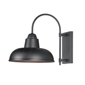 Industrial-1 Light Outdoor Wall Sconce-13.75 Inches wide by 15.75 inches high