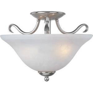 Basix - Two Light Semi-Flush Mount