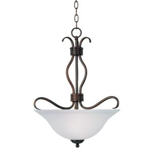 Basix - 3 Light Invert Bowl Pendant