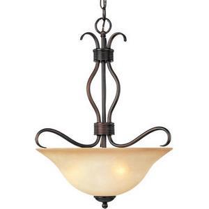 Basix - Three Light Invert Bowl Pendant