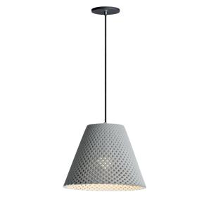 Woven - 1 Light Pendant in Traditional style - 14.5 Inches wide by 11.75 inches high