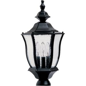 Madrona - Three Light Outdoor Pole/Post Lantern