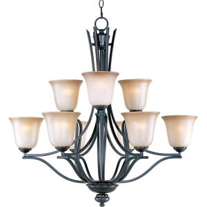 Madera - Nine Light 2-Tier Chandelier
