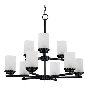 Corona-9 Light Chandelier in Contemporary style-28 Inches wide by 23 inches high