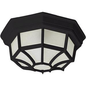 Crown Hill - Two Light Outdoor Flush Mount