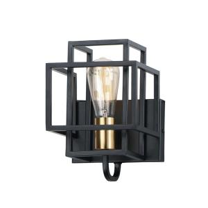 Liner-One Light Wall Sconce-7 Inches wide by 10 inches high