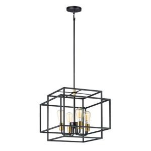 Liner - Four Light Pendant