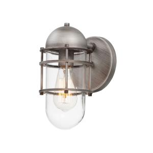 Seaside-One Light Outdoor Wall Sconce-5.5 Inches wide by 11 inches high