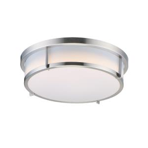 Rogue - 17 Inch 20W 1 LED Flush Mount with Emergency Back Up