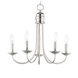 Logan - 5 Light Candle Chandelier