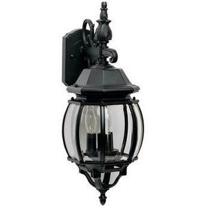 Crown Hill - Three Light Outdoor Wall Mount