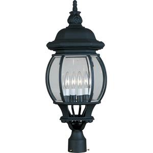 Crown Hill - Four Light Outdoor Pole/Post Lantern