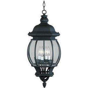 Crown Hill - Four Light Outdoor Hanging Lantern