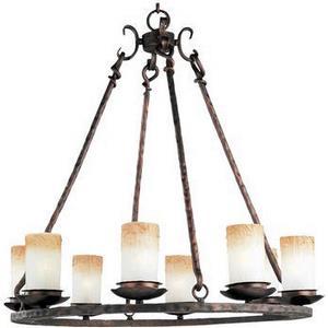 Notre Dame - Eight Light Chandelier