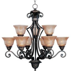 Symphony - Nine Light 2-Tier Chandelier