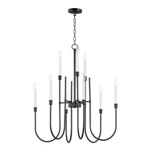 Tux-9 Light Chandelier-30 Inches wide by 33.75 inches high