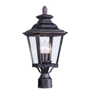 Knoxville - 19.50 Inch Three Light Outdoor Post Lantern