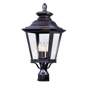 Knoxville - 23.5 Inch Three Light Outdoor Post Lantern