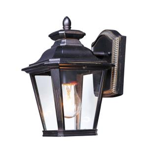Knoxville 11 Inch Outdoor Wall Lantern Early American Aluminum/Glass Approved for Wet Locations