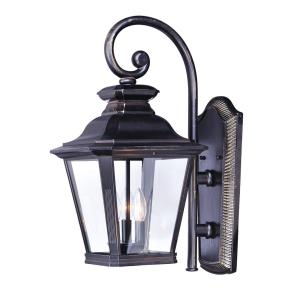 Knoxville 18.5 Inch Outdoor Wall Lantern Early American Aluminum/Glass Approved for Wet Locations
