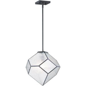 Brooklyn-1 Light Mini Pendant-14.5 Inches wide by 15 inches high
