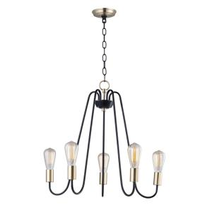 Haven-Five Light Chandelier-23.75 Inches wide by 22.5 inches high