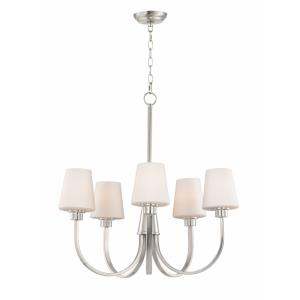 Shelter-5 Light Chandelier-27 Inches wide by 26.5 inches high