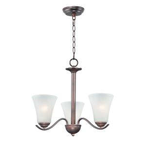 Vital-3 Light Chandelier-20 Inches wide by 18 inches high