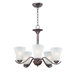 Vital-5 Light Chandelier-23 Inches wide by 20 inches high