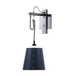 Swagger-One Light Wall Sconce-4.75 Inches wide by 8.75 inches high