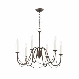 Plumette - 6 Light Chandelier