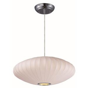 Cocoon - 25 Inch One Light Entry Pendant