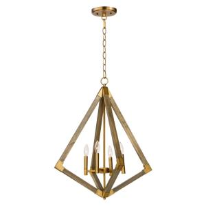 Vector - 24 Inch Four Light Pendant
