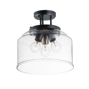 Acadia - 3 Light Semi- Flush Mount