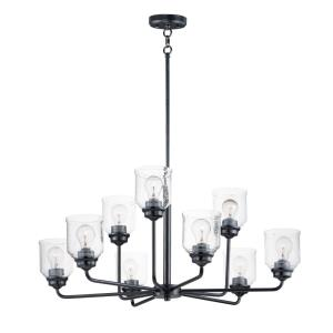 Acadia-9 Light Chandelier-34.75 Inches wide by 15 inches high