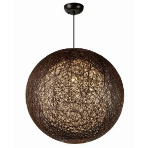 Bali - 24 Inch One Light Chandelier
