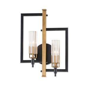 Flambeau-2 Light Wall Sconce-13 Inches wide by 18 inches high