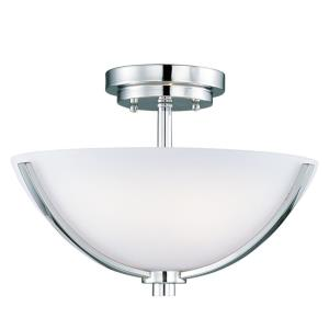 Rocco - Three Light Semi-Flush Mount