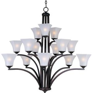 Aurora - Fifteen Light 3-Tier Chandelier