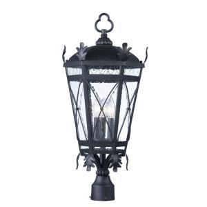 Canterbury DC - Three Light Outdoor Post Lantern