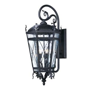 Canterbury DC 33 Inch Outdoor Wall Lantern  Aluminum/Glass Approved for Wet Locations