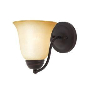Basix-1 Light Wall Sconce in Contemporary style-6 Inches wide by 8 inches high