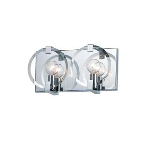 Looking Glass - 2 Light Wall Sconce