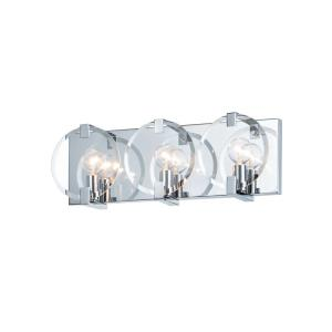 Looking Glass - 3 Light Wall Sconce