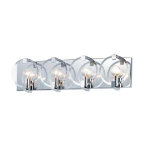 Looking Glass - 4 Light Wall Sconce