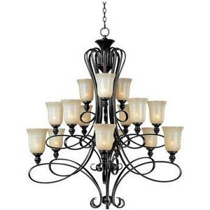 Infinity - Fifteen Light 3-Tier Chandelier