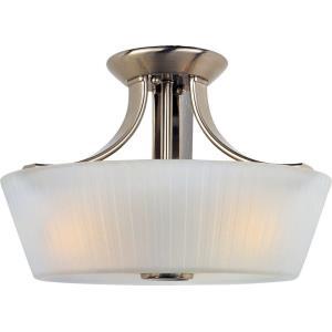 Finesse - Three Light Semi-Flush Mount