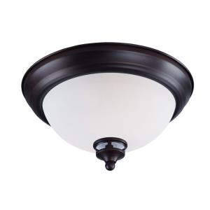 Novus-One Light Flush Mount-11.25 Inches wide by 6 inches high